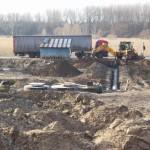 Kanalizace – Průtah III. Stavba, KM 0,00 – 0,700 II/427 Moravský Písek