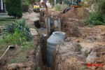 Dubňany - kanalizace v lokalitě Včelínek