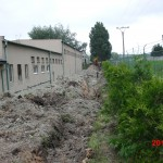Hustopeče areál firmy NAVOS - vodovod