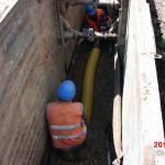 Hustopeče - odvodnění nemovitostí v ulici Nádražní a Hradní