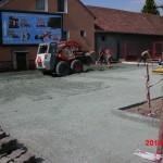 Dubňany - oprava parkoviště před OD Horník