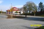 Břeclav - parkoviště u hřbitova Stará Břeclav