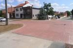 Dolní Bojanovice - zvýšené křižovatky u ZŠ